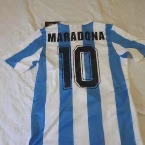⛒ARGENTINA RETRO WORLD CUP DIEGO MARADONA RE
